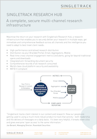 Singletrack Research Hub Data Sheet